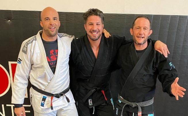 Brendan Schaub Promoted to Black Belt in Brazilian Jiu-Jitsu