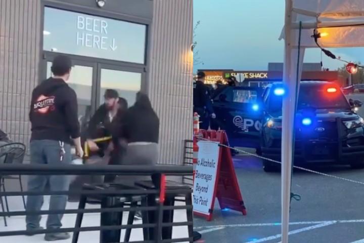 Angry Drunk Guy Tries To Assault Jiu-Jitsu Black Belt at a Bar; Big Mistake