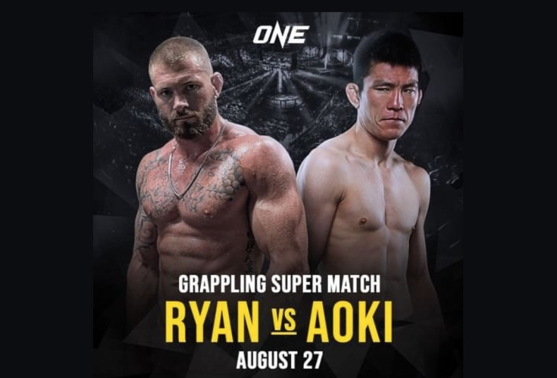 Gordon Ryan To Face Shinya Aoki in a Cage Grappling Match