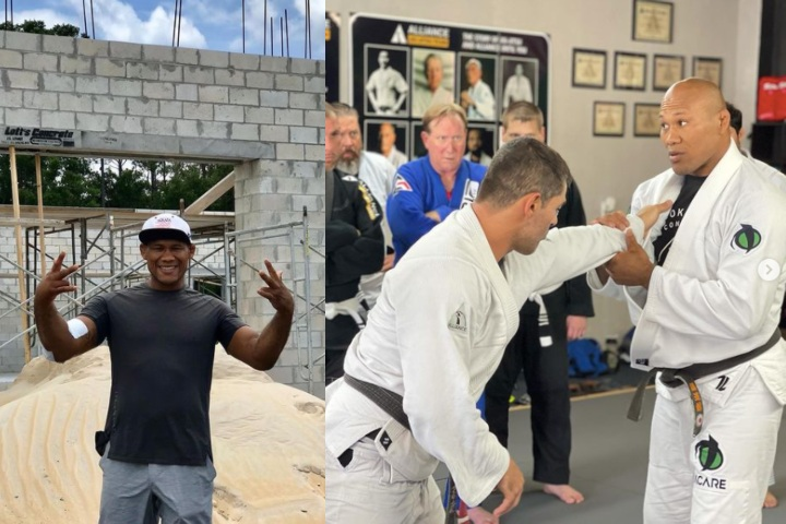 Released by the UFC, Ronaldo Jacare Plans To Open a Huge BJJ Academy in Florida