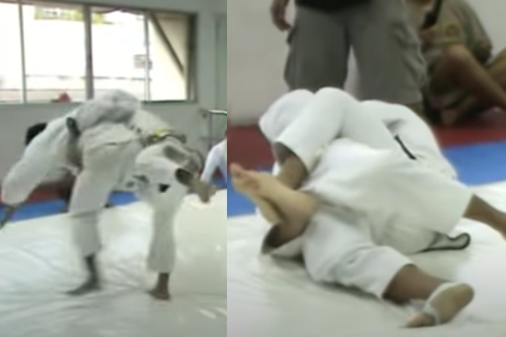 Muay Thai Champ Competes In BJJ After Training just 6 Months, Submits Judo Black Belt National Team Member