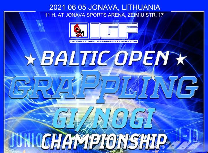 BALTIC OPEN GRAPPLING CHAMPIONSHIP Gi & No Gi, JUNE 5th 2021
