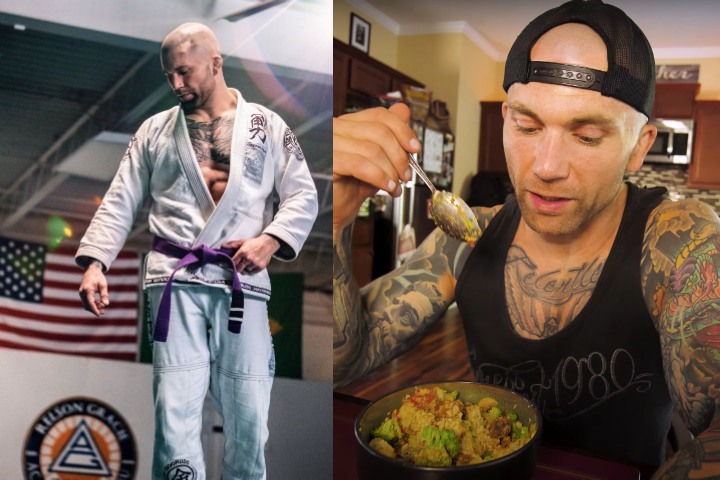 What This Plant Based BJJ Practitioner Easts in a Day