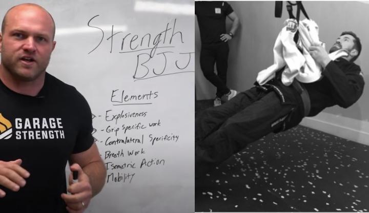 Strength Coach Shares the Perfect Strength Training Regimen For Brazilian Jiu-Jitsu