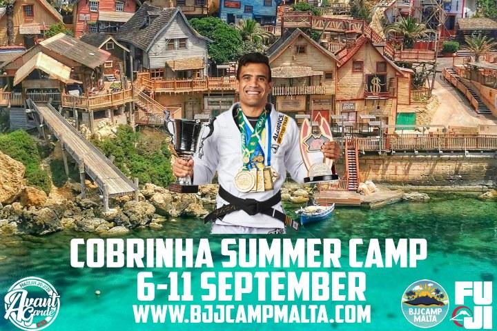 Cobrinha Charles Summer Camp in Malta 6th-11th September