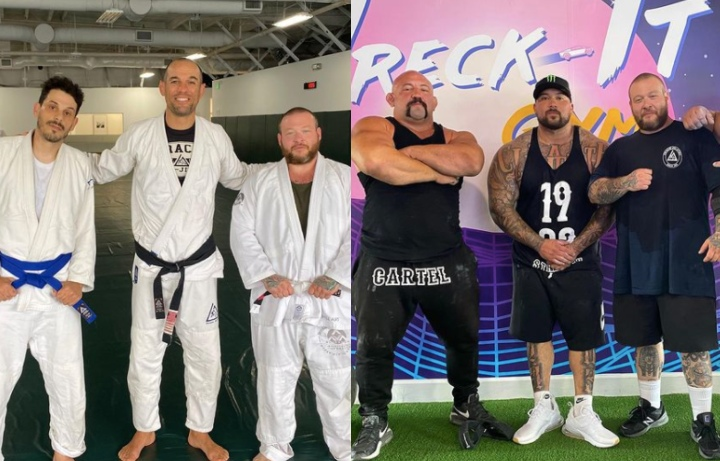 Rapper Action Bronson Training Jiu-Jitsu As Part Of Major Weight Loss Lifestyle Change