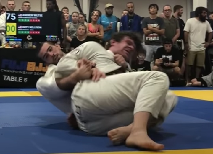 Black Belt Andrew Wiltse Defeats Opponent 75-0 then Mercifully Submits Him