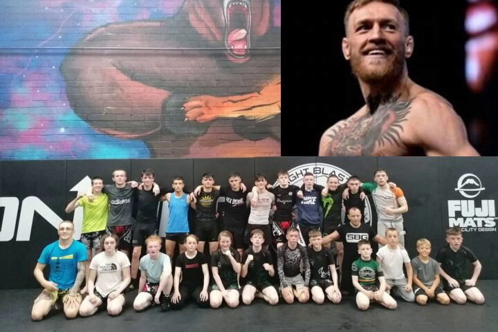 Conor McGregor Pays Entire Trip for Irish MMA Youth Squad at World Championships