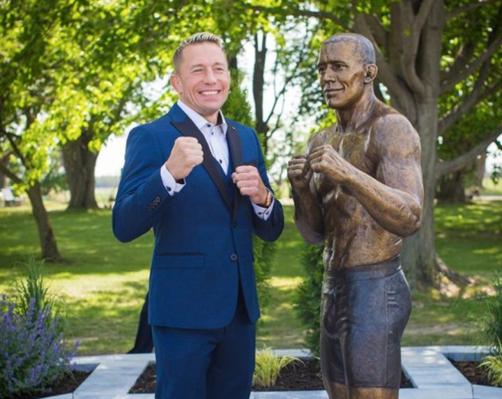 GSP Receives a Statue in his Hometown in Quebec, Canada