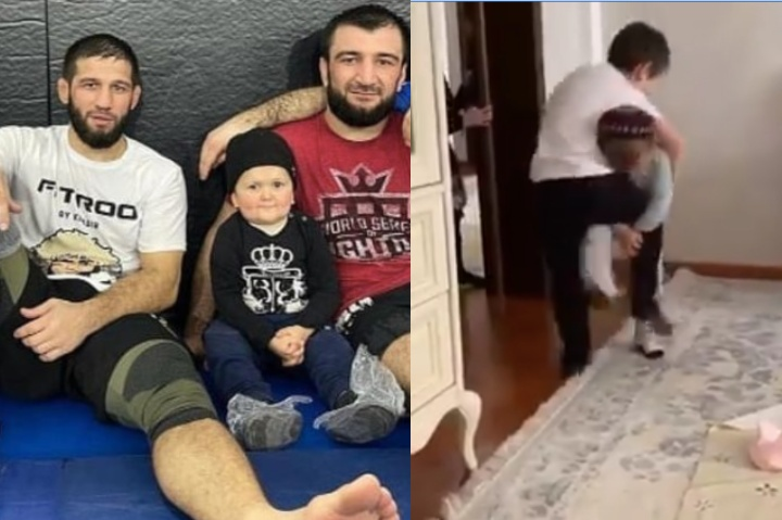 Hasbulla Magomedov Shows Off His Legit Grappling Skills