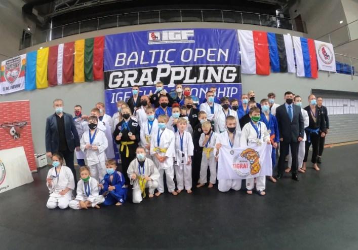 Triumph of T. Smirnovas in the Baltic Grappling Championship