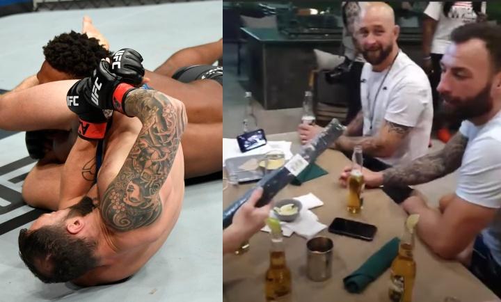 UFC's Paul Craig Promoted To BJJ Black Belt Over Some Beers