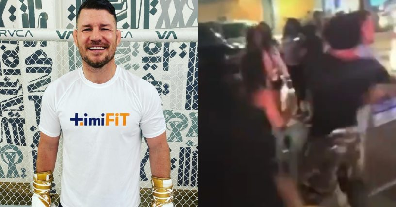 Michael Bisping Shares Video of Man Who Assaulted Him In New Orleans