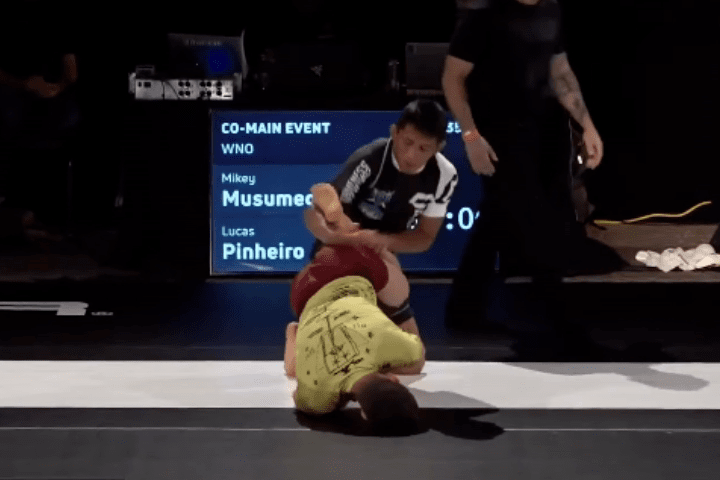 Watch: Mikey Musumeci Heel Hooks Lucas Pinheiro in Less Than 90 Seconds