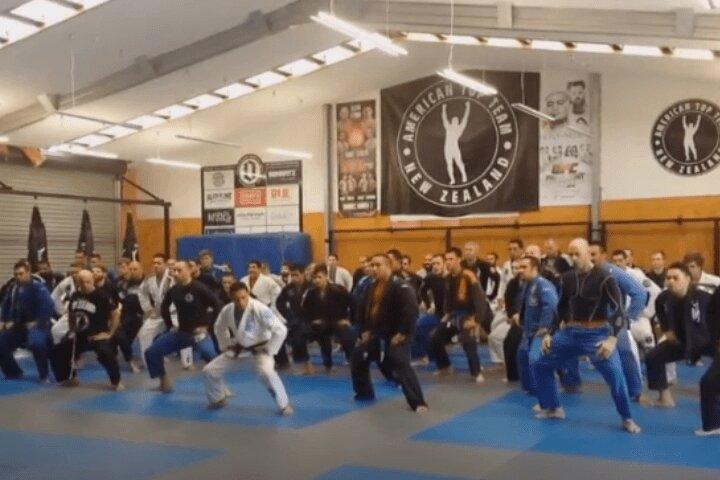 Watch: POWERFUL Jiu-Jitsu HAKA Performed by New Zealanders
