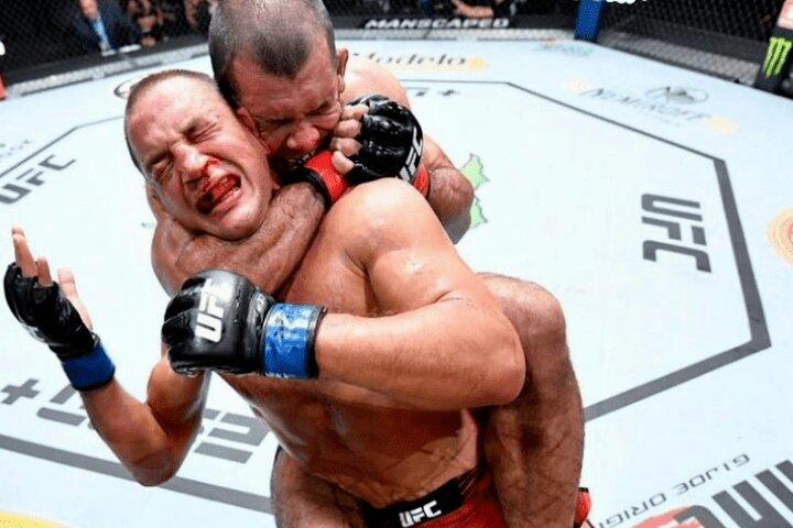 RNC Finish: Rodolfo Vieira Submits Dustin Stoltzfus (UFC Vegas 31)