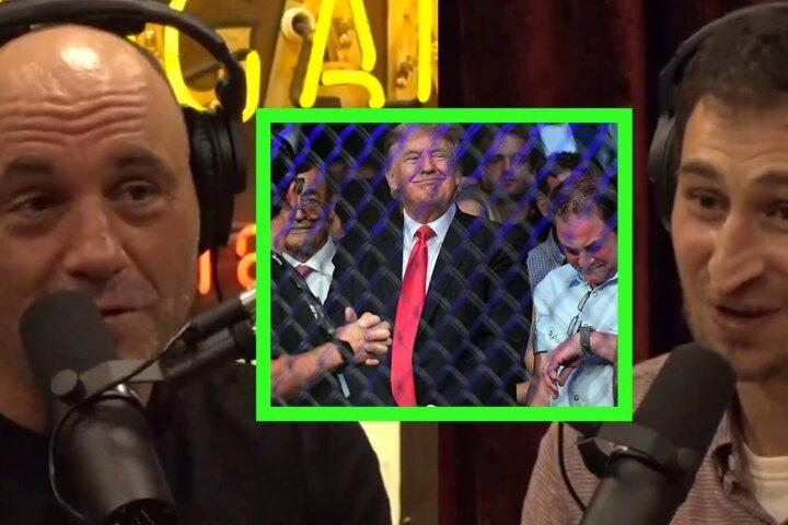 "Joe Rogan: ""I regret not taking a selfie with Donald Trump"""