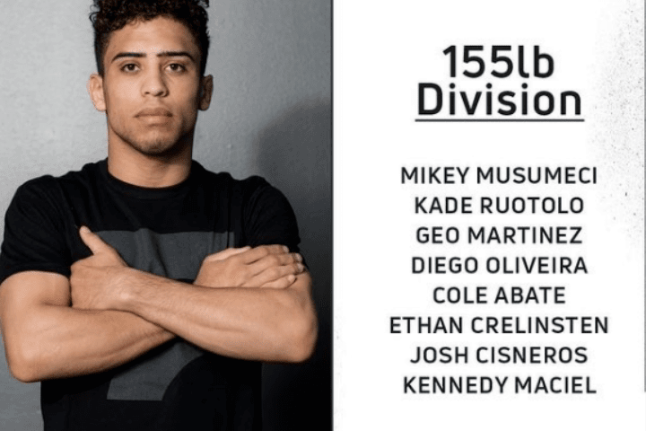 Who's Number One (WNO): 155-Pound Bracket Completed