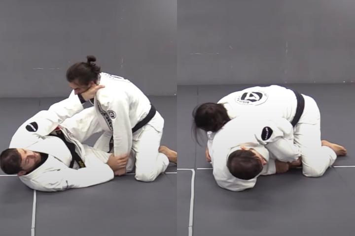 Roger Gracie's Favorite Kimura Set Up from Half Guard