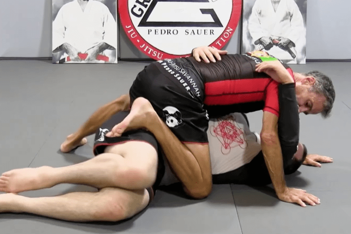 Sneaky Mount Transition from Side Control by Pedro Sauer