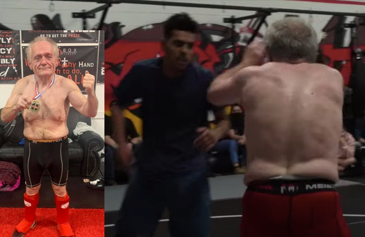 Elderly Man Competes & Wins in Combat Catch Wrestling Against Much Younger Opponents