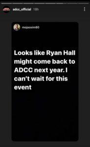 Mo Jassim Ryan Hall ADCC 2022