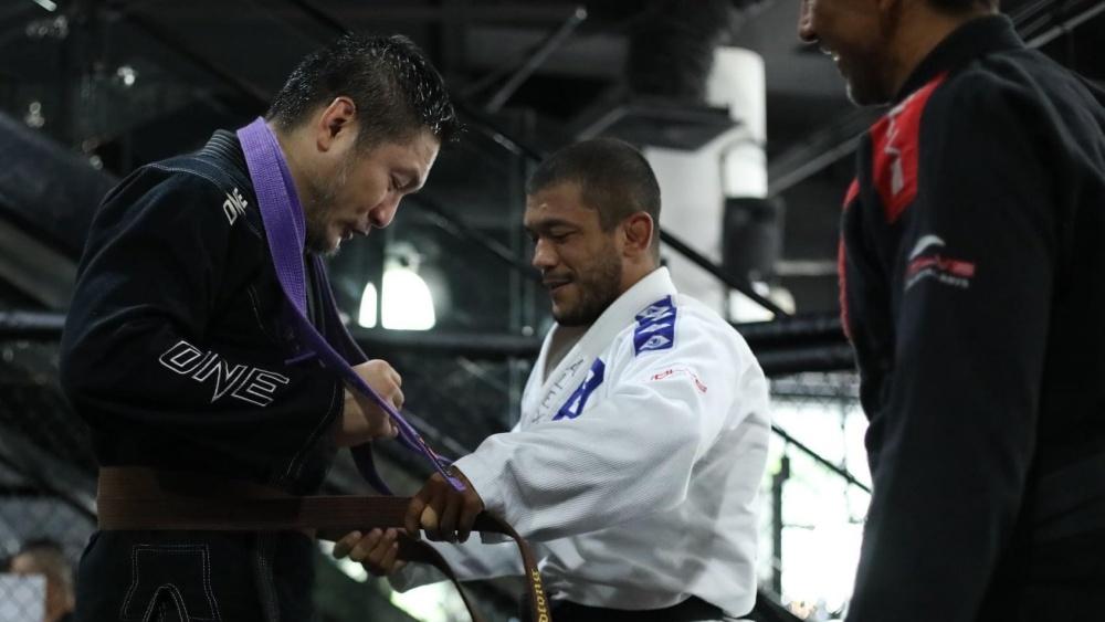 Chatri Sityodtong Promoted To BJJ Brown Belt