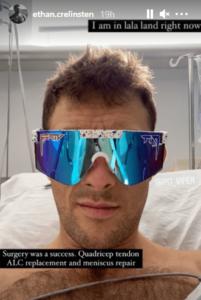 Crelinsten Ethan surgery