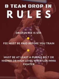B-Team Drop-In Rules