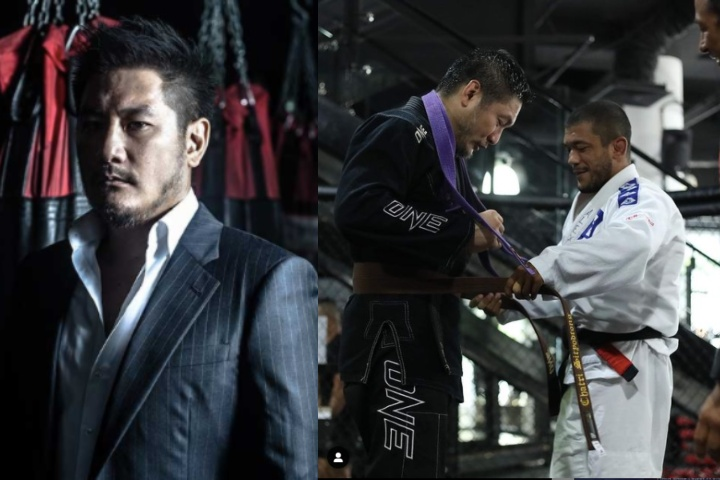ONE Championship Chairman Chatri Sityodtong Promoted To Brown Belt in Brazilian Jiu-Jitsu