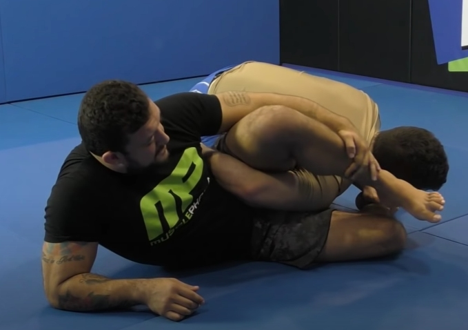 Finish More People Using the Omoplata with Tom DeBlass