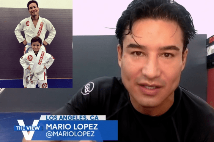 """""""Saved By The Bell"""" Actor Mario Lopez Talks BJJ: """"It's Like Physical Chess"""""""