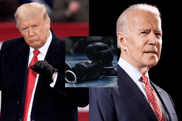 """Donald Trump: """"My Easiest Boxing Fight Would Be Joe Biden – He Would Go Down Very, Very Quickly"""""""