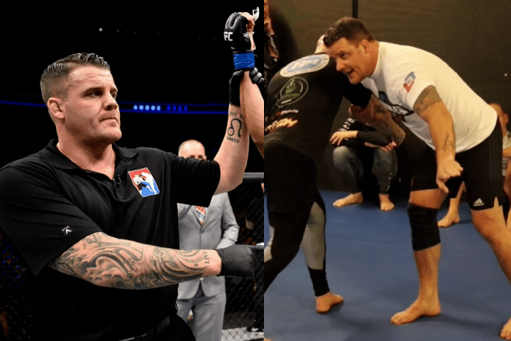 """UFC Referee Marc Goddard Teaches Grappling: """"He's The First On The Mats, Last One Off"""""""