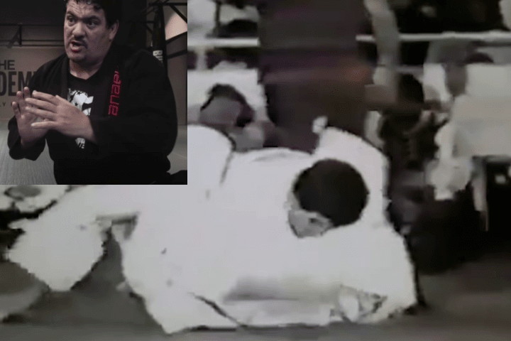 Watch: Rickson Gracie vs. Rigan Machado Throwback Match from 1986