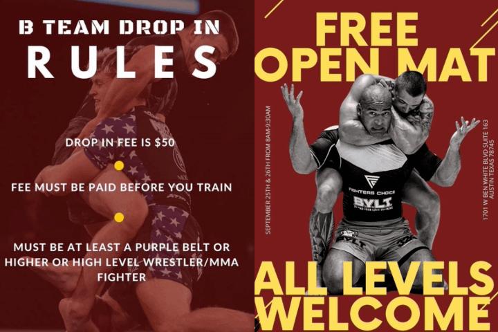 Craig Jones' B-Team Now Allows Drop-Ins: Purple Belts And Up