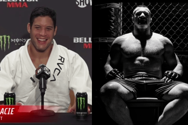 """Neiman Gracie Inspired By Cro Cop: """"If We Keep Fight Standing, Hospital; If We Go To Ground, Cemetery"""""""