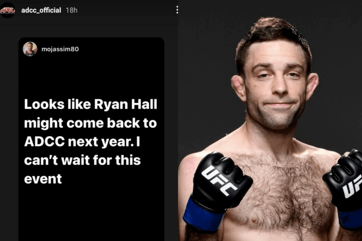 ADCC 2022: Is Ryan Hall Making a Return?
