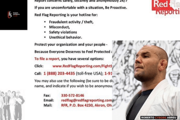 """Roberto """"Cyborg"""" Abreu Announces Platform and Hotline Number for Reporting Misconduct"""