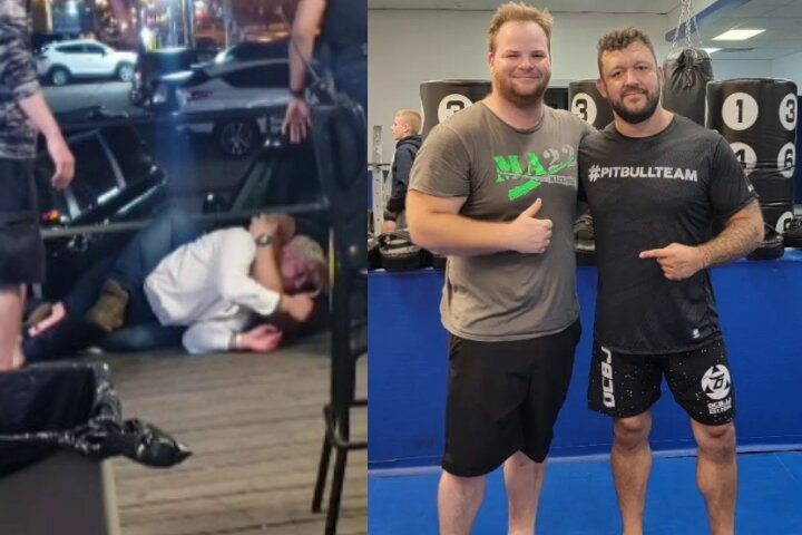 Bouncer Who Choked Out Dillon Danis Has First Training Session with Tom DeBlass