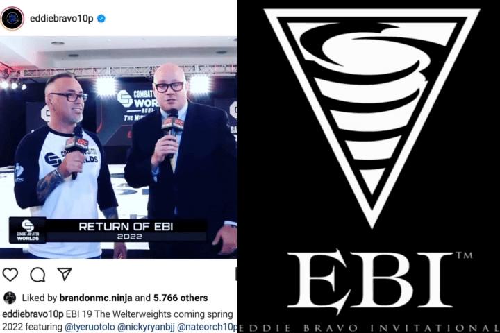 Breaking: Eddie Bravo Invitational (EBI) Returns in 2022