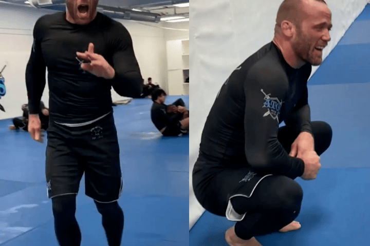 Watch: Josh Hinger Breaks Finger While Rolling with Cat Zingano