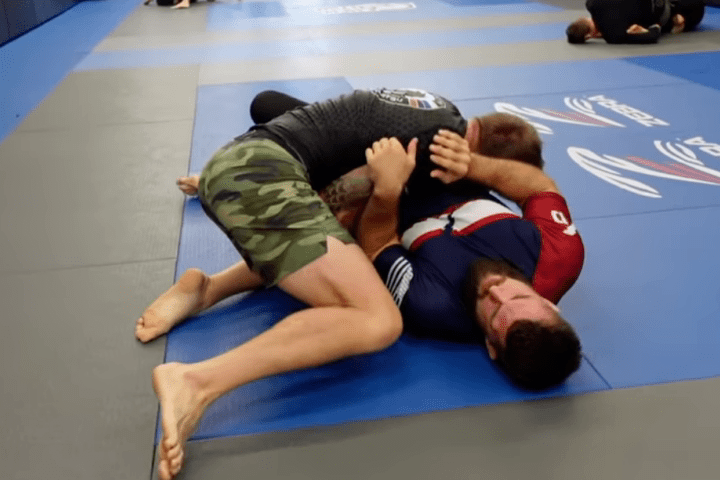 """Improve Your Side Control Defense With The """"Iron Squirrel"""" Principle"""