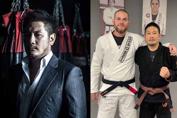ONE Championship Chairman Chatri Sityodtong Trains BJJ with Roger Gracie