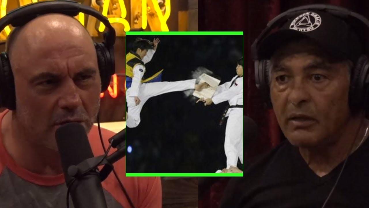 Joe Rogan Tells Rickson Gracie How Taekwondo Compares To Brazilian Jiu-Jitsu for Effectiveness