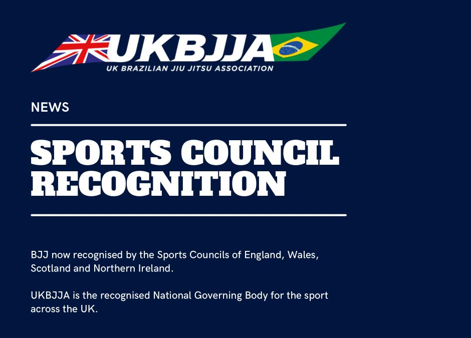 Breaking: Brazilian Jiu-Jitsu Now Officially Recognised by UK Sports Council, Opens Door To Funding Opportunities